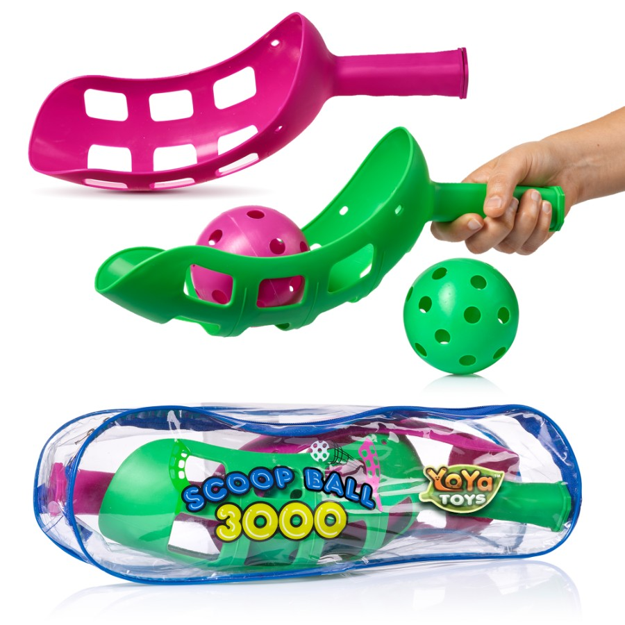 Scoop Ball Game By YoYa Toys Scoop Toss Set