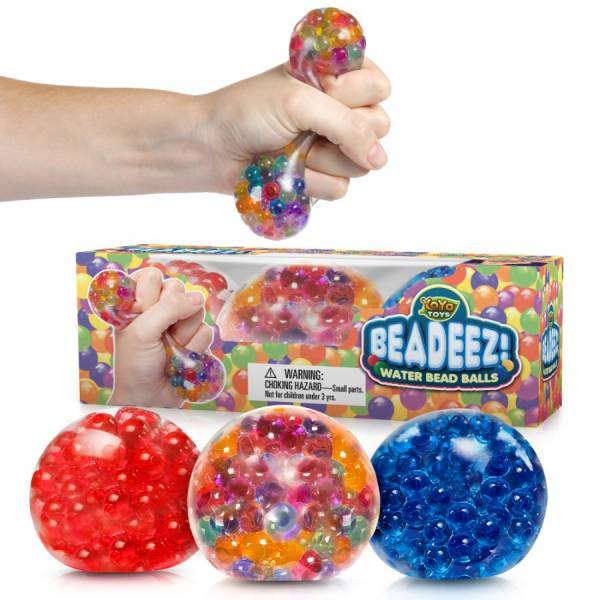 Beadeez! Ultimate Stress Relief Squeezing Balls 3-Pack by YoYa Toys