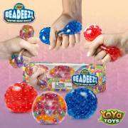 Beadeez! by YoYa Toys - Premium Anti-Stress Squishy Balls with Water Beads