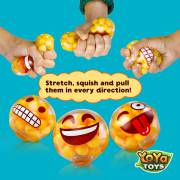 DNA Moody Faces by YoYa Toys - Emoji Stress Balls - 3 Different Popular Smiley Face
