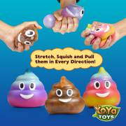 DNA Poopy Faces By YoYa Toys - Indestructible Sensory Rubber Ball