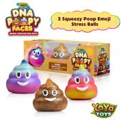 DNA Poopy Faces By YoYa Toys - Squeezing, Anxiety Relief Ball For Kids _ Adults