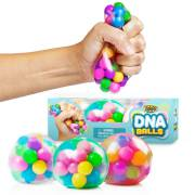 DNA Stress Ball by YoYa Toys- 3 Pack- Squeezing Stress Relief Ball- For Kids _ Adults