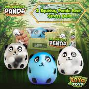 DNA Wildlife Panda Stress Ball by YoYa Toys - Durable _ Non-Toxic