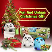DNA Wildlife Panda Stress Ball by YoYa Toys - Perfect Christmas Gift