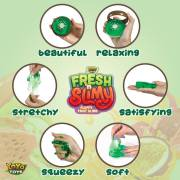 Fresh N Slimy Fluffy Fruit Slime by YoYa Toys - SQUEEZE _ SMASH, TWIST _ STRETCH!