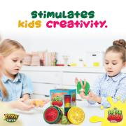 Fresh N Slimy - Fruit Slime by YoYa Toys -Stimulates Kids Creativity