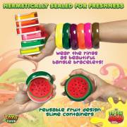 Fresh N Slimy by YoYa Toys - Fantastic 6-pack of colorful slime fruit