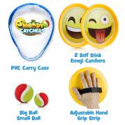 Moody Catchers - 2 Disc Paddles, 2 Balls (One Big _ One Small) _ PVC Carry Bag