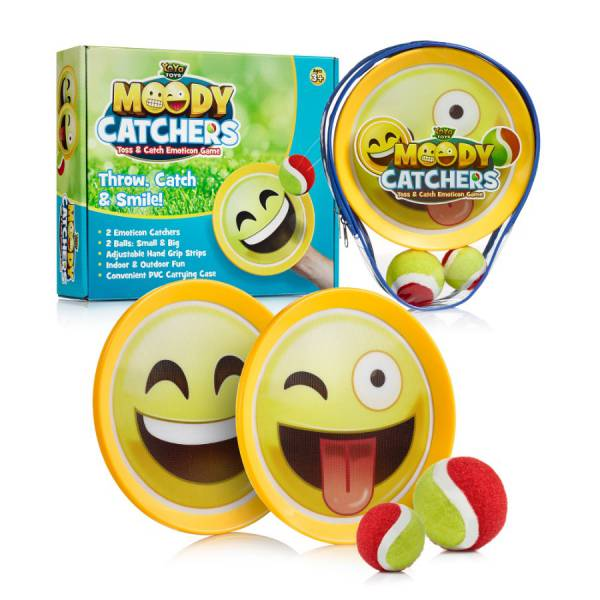 Moody Catchers Emoji Toss _ Catch Ball Game