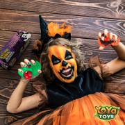 Spooky DNA Stress Balls by YoYa Toys DISCOVER THE MOST FUN, RELAXING _ SPOOKIEST HALLOWEEN STRESS BALLS