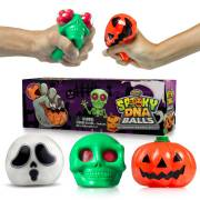 Spooky DNA Stress Balls by YoYa Toys For Kids _ Adults Halloween Squishy Ball Gift
