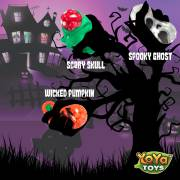 Spooky DNA Stress Balls by YoYa Toys GET YOUR HALLOWEEN STRESS RELIEF SQUEEZE BALLS SET