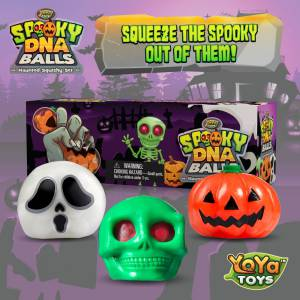 Spooky DNA Stress by YoYa Toys Balls For Kids _ Adults