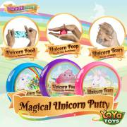 WonderSlime Unicorn Slime Kit by YoYa Toys - Unicorn Slime Poo + Unicorn Tears + Unicorn Food
