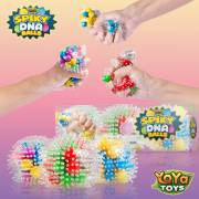 YoYa Toys Spiky DNA LED Ball Spike Squishies for Autism, Fidgeting, ADHD _ Quitting Bad Habits