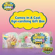 oYa Toys Spiky DNA LED Ball - stunning gift box