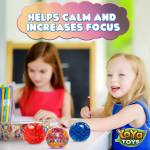 Beadeez! Stress Balls by YoYa Toys - Alleviate Tension, Anxiety _ Improve Focus