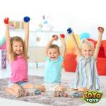 Beadeez! Stress Balls by YoYa Toys - FEEL MORE CONFIDENT, RELAXED _ PRODUCTIVE WITH OUT STRESS BALLS,