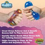 Beadeez! Stress Balls by YoYa Toys - Squeeze Your Troubles Away With Our Stress-Relief Balls!