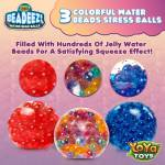 Beadeez! Stress Balls by YoYa Toys - perfect for college students, high-school students, office workers and seniors