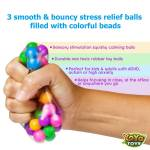 DNA Balls by YoYa Toys - RELEASE YOUR STRESS with 3 Pack