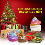 DNA Poopy Faces By YoYa Toys - DNA Poop Stress Ball - Stunning Gift Package