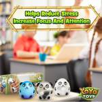 DNA Wildlife Panda Stress Ball by YoYa Toys - STOP STRESS _ ANXIETY IN THEIR TRACKS!