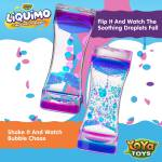 Liquimo - Liquid Motion Bubbler by YoYa Toys - Discover The Marvels Of Gravity Combined With Beautiful, Colorful _ Bubbly Droplets!