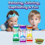 Liquimo - Liquid Motion Bubbler by YoYa Toys - INFINITE HOURS OF TRANQUILITY _ FUN!