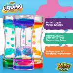 Liquimo - Liquid Motion Bubbler by YoYa Toys - THREE DIFFERENT COLORS, MULTIPLE USES!