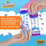 Liquimo - Liquid Motion Bubbler by YoYa Toys - letting gravity guide the colored droplets from top to bottom